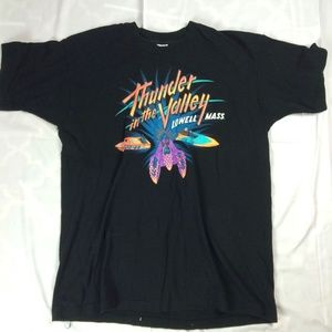 VTG Mens XL Thunder In The Valley Lowell Massachus